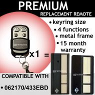 B. Remote Control Compatible With B&D 062170 / 4333EBD