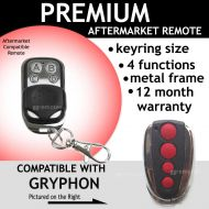 Garage Remote Control Compatible With Latest Gyphon Red Button Remote
