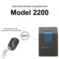 M. Garage remote control transmitter compatible with model 2200