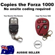 Aftermarket Garage Door remote copies Accent RED FORZA 1000