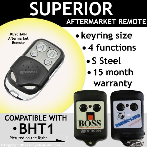 B. Remote Control Replaces BOSS Steel-line BHT1 HT1 bht1v2