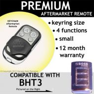 B. Garage Door Remote Control Compatible with HT3 433.92MHz Clear Frame BLUE Light