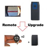 D. Garage Door Remote Control KIT Fits Dominator DOM503 DOM315 315mhz