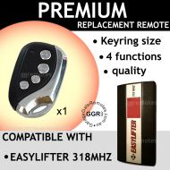 E. Garage Door Remote Control Compatible With B&D EASYLIFTER 318MHZ