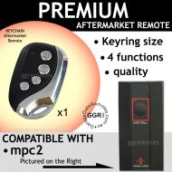 M. Garage Door Remote Compatible with MPC2 B&D  TX318