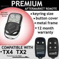 S. Garage door remote control compatible with superlift TX4 TX2