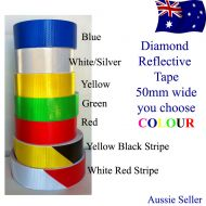 RED diamond  retro reflective adhesive tape