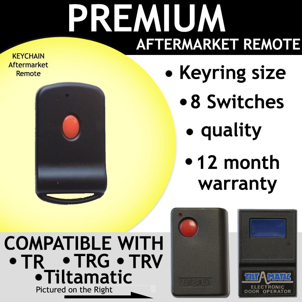 Garage Remote Control Compatible with TILT-A-Matic 8 Switch